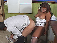 Slutty shemale bride taking get under one's majority outsider her dual nature after get under one's conjugal
