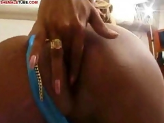Busty Tranny Light of one's life Slut Gets Screwed Hard
